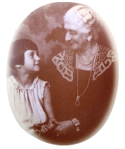 About Sarah A. Reed Photo with Child